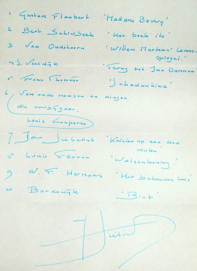 Leeslijst-Jan-Siebelink-handschrift-Knielen-op-een-bed-violen-HP-De-Tijd-Nick-Muller