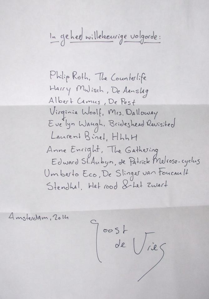 leeslijst-Joost-de-Vries-handgeschreven-HP-De-Tijd