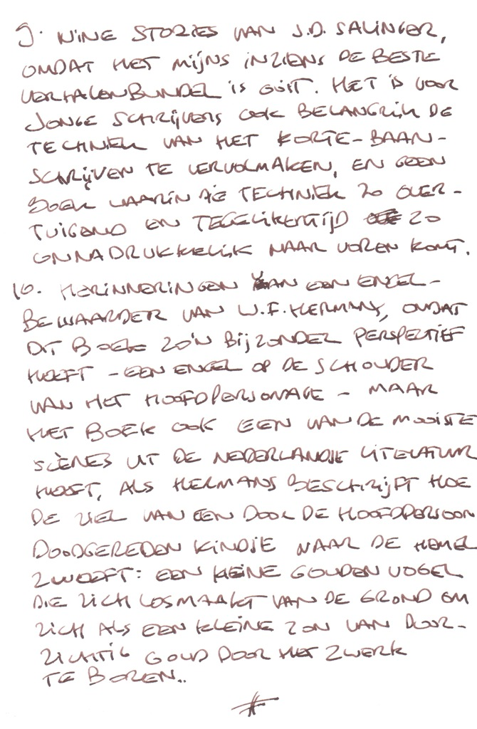 Leeslijst-Ronald-Giphart-deel-3