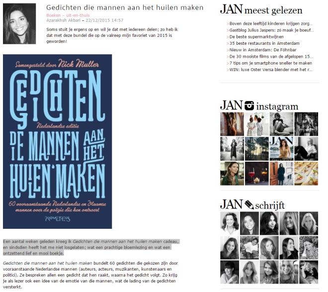 nick muller gedichten die mannen aan het huilen maken favoriet boek 2015 jan magazine
