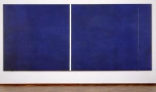 barnett newman blue