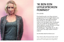 eva jinek interview hp de tijd feminist nick muller journalistiek talkshow vriend freek