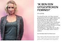 eva jinek interview hp de tijd feminist nick muller journalistiek talkshow vriend freek